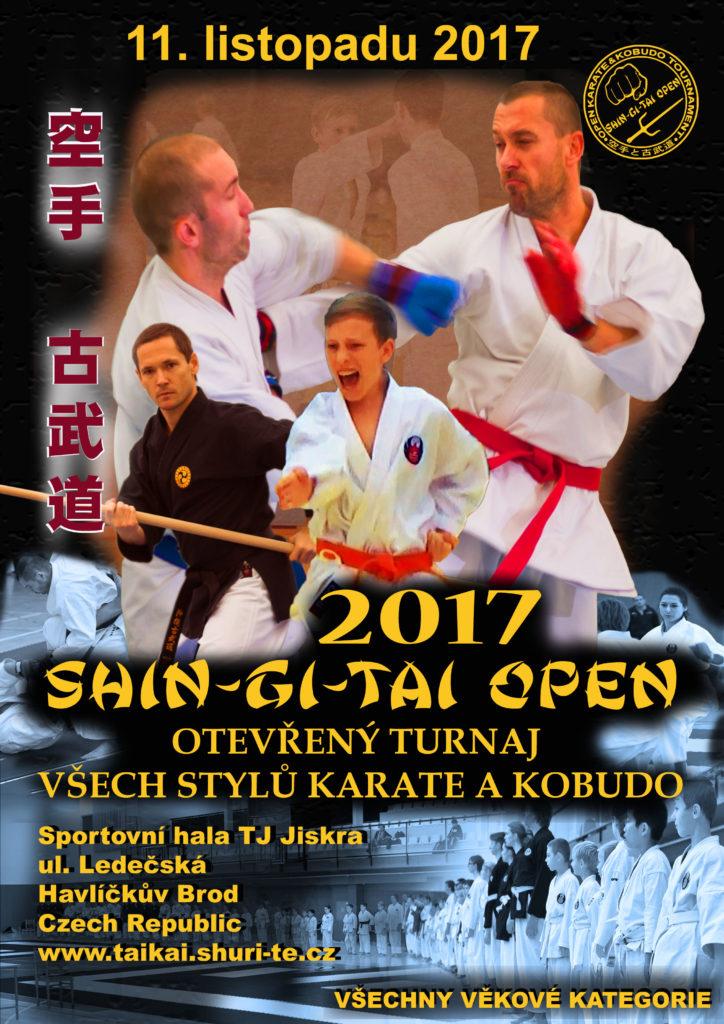 SHIN-GI-TAI OPEN 2017 - otevřený turnaj Karate a Kobudo (11.11.2017, Havl. Brod) @ Havlíčkův Brod