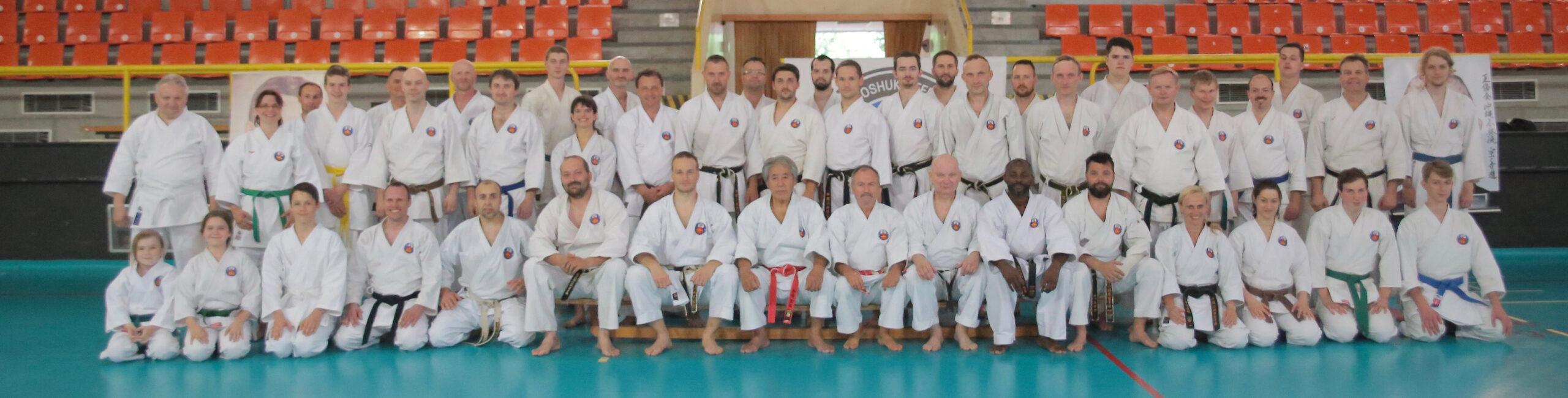 Mezinárodní Gasshuku WOF CZECH - Okinawa Shorin-ryu Karate & Okinawa Kobudo (2.-3.6.2018, Liberec) @ Liberec (Česká republika)