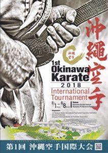 The 1st Okinawa Karate international tournament 2018 @ Naha (Okinawa - Japonsko)